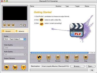 3herosoft FLV Converter
