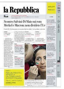 la Repubblica - 20 Giugno 2018
