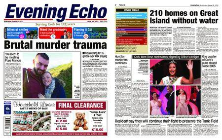 Evening Echo – August 22, 2018