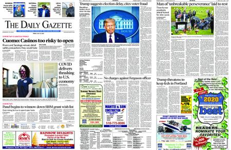 The Daily Gazette – July 31, 2020