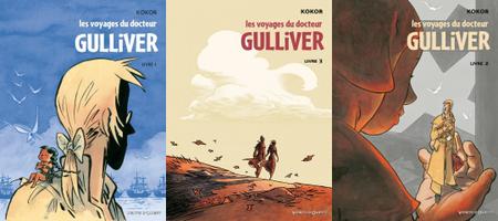 Les Voyages du docteur Gulliver - 3 Tomes
