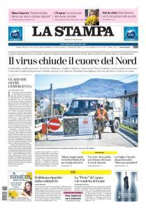 La Stampa Torino Provincia e Canavese - 8 Marzo 2020