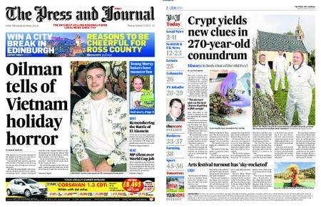 The Press and Journal Moray – October 23, 2017