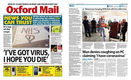 Oxford Mail – March 31, 2020