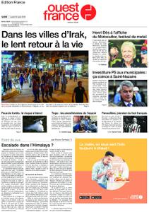 Ouest-France Édition France – 12 août 2019