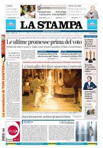 La Stampa Imperia e Sanremo - 3 Marzo 2018