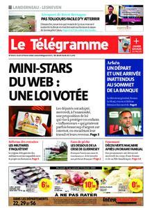 Le Télégramme Landerneau - Lesneven – 13 février 2020