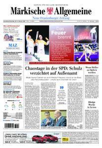 Neue Oranienburger Zeitung - 10. Februar 2018
