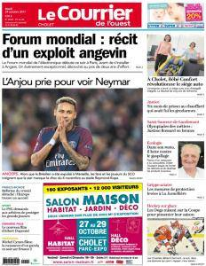 Le Courrier de l'Ouest Cholet - 24 Octobre 2017