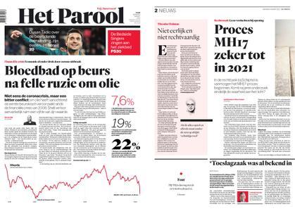 Het Parool – 09 maart 2020