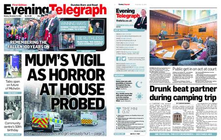 Evening Telegraph First Edition – November 12, 2018