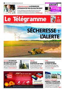 Le Télégramme Ouest Cornouaille – 03 août 2020