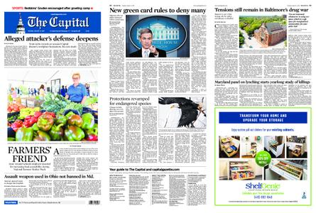 The Capital – August 13, 2019