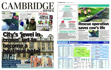 Cambridge News – June 22, 2019