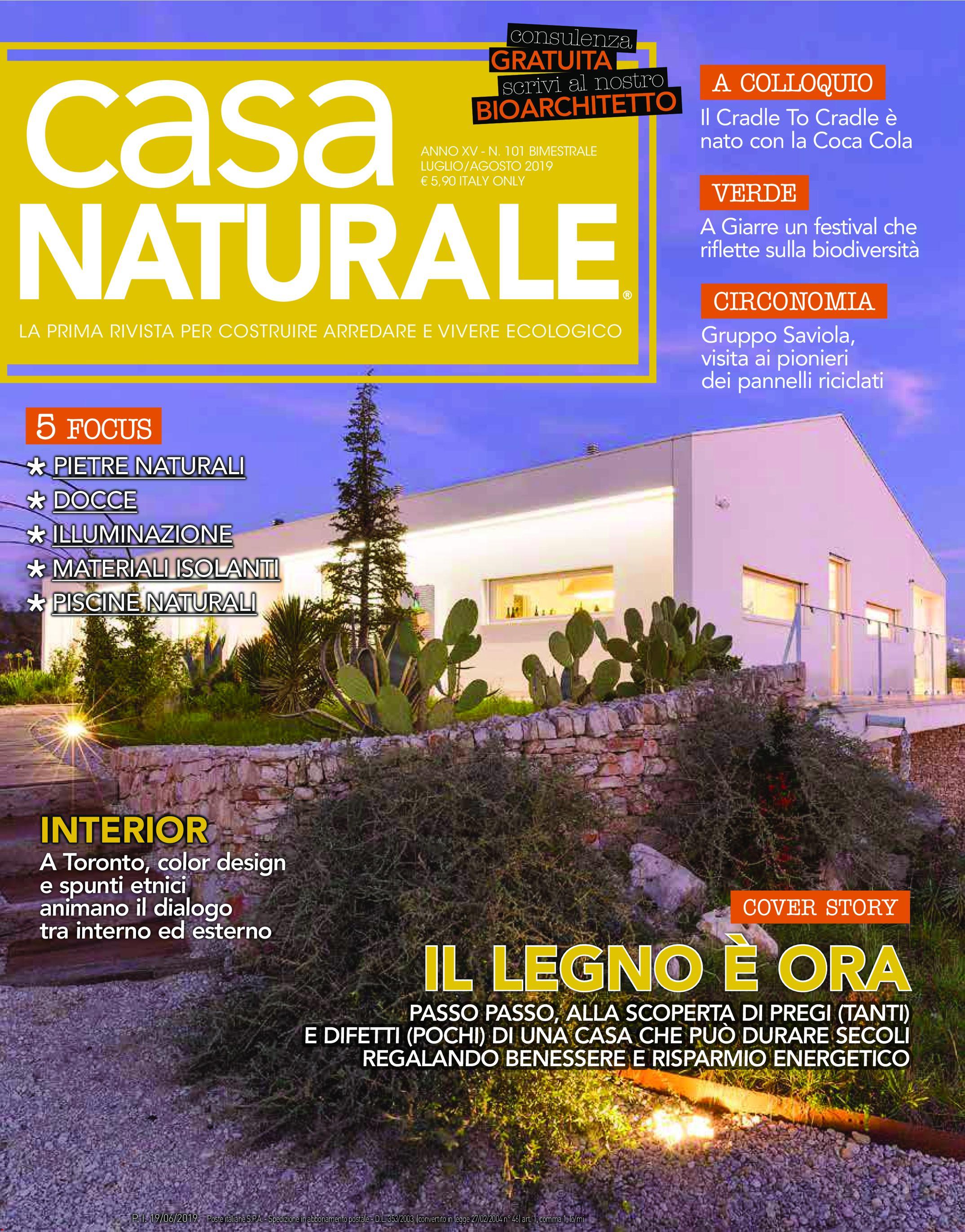Casa Naturale - Luglio-Agosto 2019