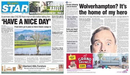 Shropshire Star Last Telford Edition – February 15, 2020