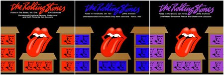 The Rolling Stones - Foxes In The Boxes (3CD) (2015) {JEMS Archives} **[RE-UP]**