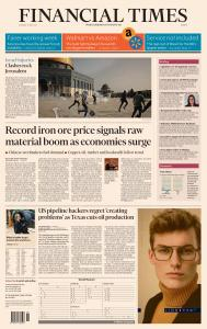 Financial Times Europe - May 11, 2021