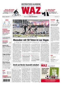 WAZ Westdeutsche Allgemeine Zeitung Oberhausen-Sterkrade - 03. Oktober 2017