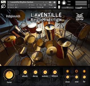 Indigisounds Laventille Rhythm Section KONTAKT