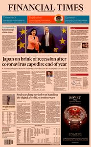 Financial Times Europe – 18 February 2020
