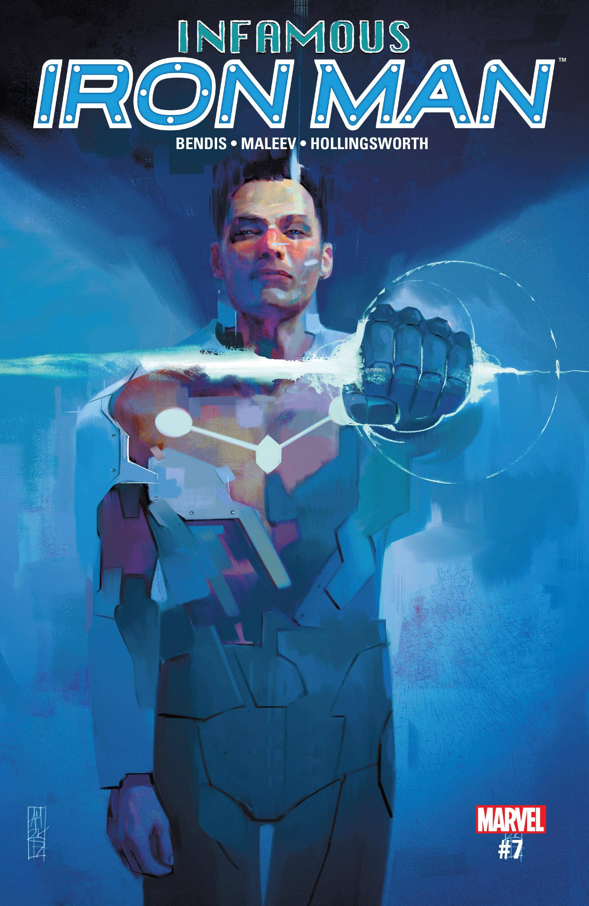Infamous Iron Man 007 2017 Digital Zone-Empire