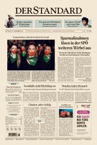 Der Standard – 27. November 2019