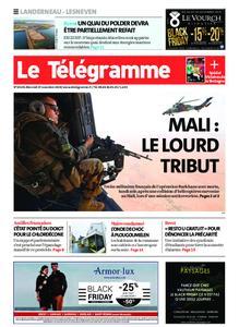 Le Télégramme Landerneau - Lesneven – 27 novembre 2019