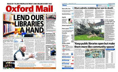 Oxford Mail – March 10, 2018