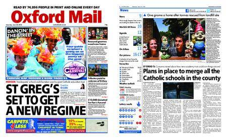 Oxford Mail – June 30, 2018