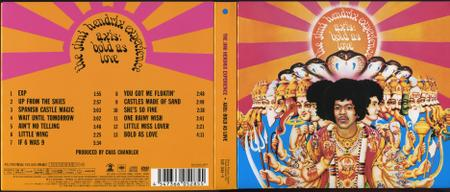 The Jimi Hendrix Experience - Axis: Bold As Love (1967) [2010, Sony Music Japan SICP 2638] Repost