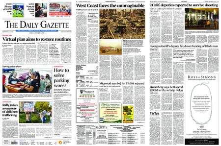 The Daily Gazette – September 14, 2020