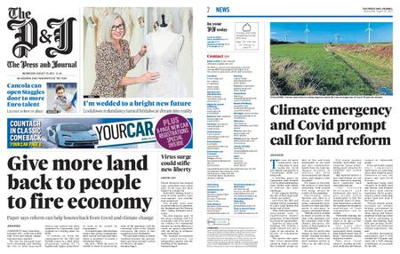The Press and Journal Moray – August 25, 2021