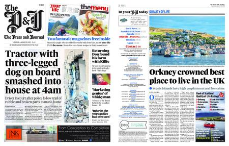 The Press and Journal Moray – January 26, 2019