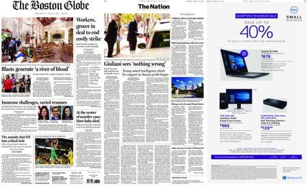 The Boston Globe – April 22, 2019