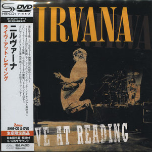 Nirvana - Live At Reading, 1992 (2009) Japanese SHM-CD + DVD9 [Re-Up]