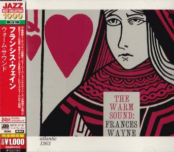 Frances Wayne - The Warm Sound (1957) {2012 Japan Jazz Best Collection 1000 Series WPCR-27197}