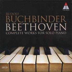 Rudolf Buchbinder - Beethoven: Complete Works for Solo Piano (2012) (15 CDs Box Set)