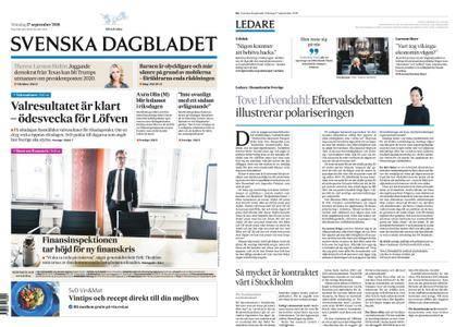 Svenska Dagbladet – 17 september 2018