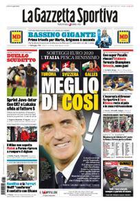 La Gazzetta dello Sport Roma – 01 dicembre 2019