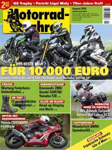 Motorradfahrer - August 2018
