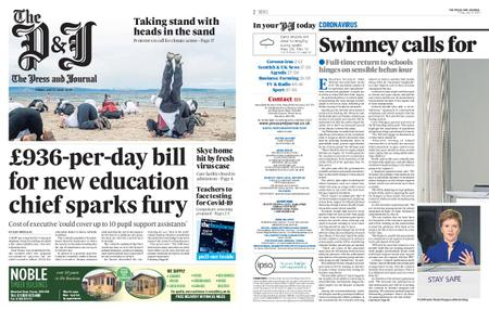 The Press and Journal Moray – July 17, 2020