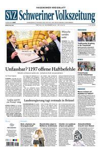 Schweriner Volkszeitung Hagenower Kreisblatt - 23. November 2018