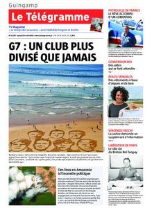 Le Télégramme Guingamp – 24 août 2019