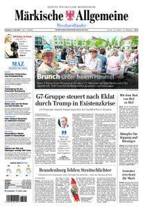 Märkische Allgemeine Westhavelländer - 11. Juni 2018