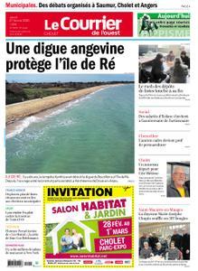 Le Courrier de l'Ouest Cholet – 27 février 2020