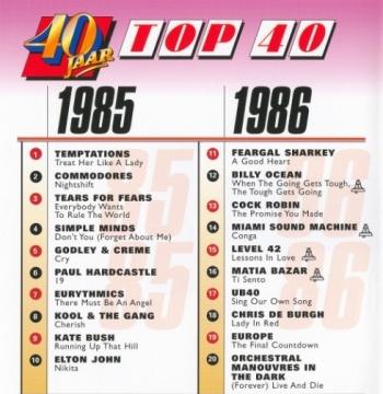 40 Jaar Top 40 1985-1986