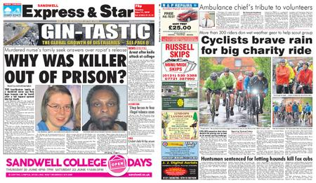 Express and Star Sandwell Edition – June 11, 2019