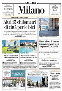 la Repubblica Milano - 22 Giugno 2020