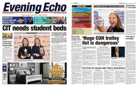 Evening Echo – January 10, 2019